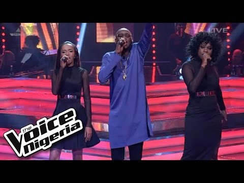 """#Team2baba sings """"The Devil Is a Liar"""" / Live Show / The Voice Nigeria 2016"""