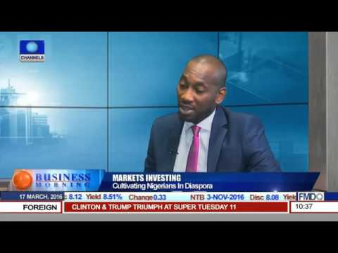 Gbite Oduneye discusses Derivatives firm Eagle Global Markets and Diaspora Investment on NSE