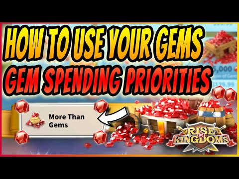 Rise of Kingdoms GEM SPENDING GUIDE | USE YOUR GEMS EFFICIENTLY + HOW TO GET T5 AS F2P | 2020 Guide