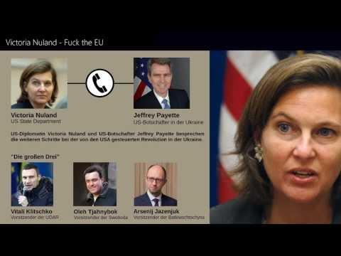 Fuck the EU - US-Spitzendiplomatin Victoria Nuland - Ukraine