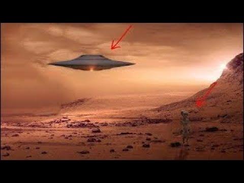 Giant UFO On Mars Caught On Tape | Best UFO Footage