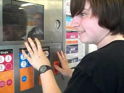 DelticFilms plays the metro ticket machine