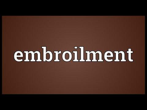 Header of embroilment