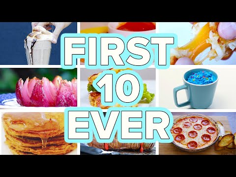 Tasty's First 10 Recipes Ever