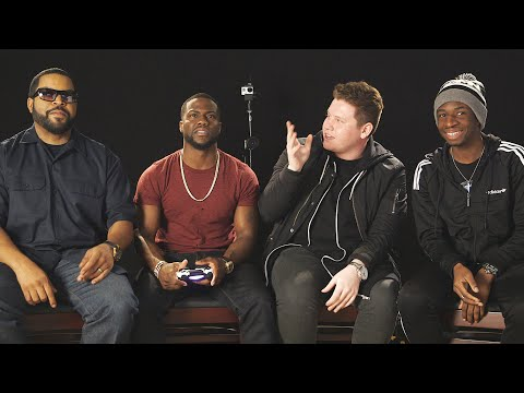 PLAYING GTA 5 WITH KEVIN HART & ICE CUBE!