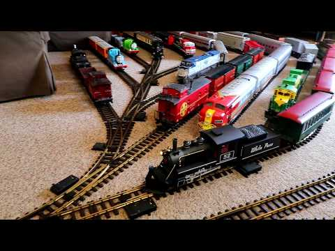 Quarantined At Home With A House Full Of Model Trains