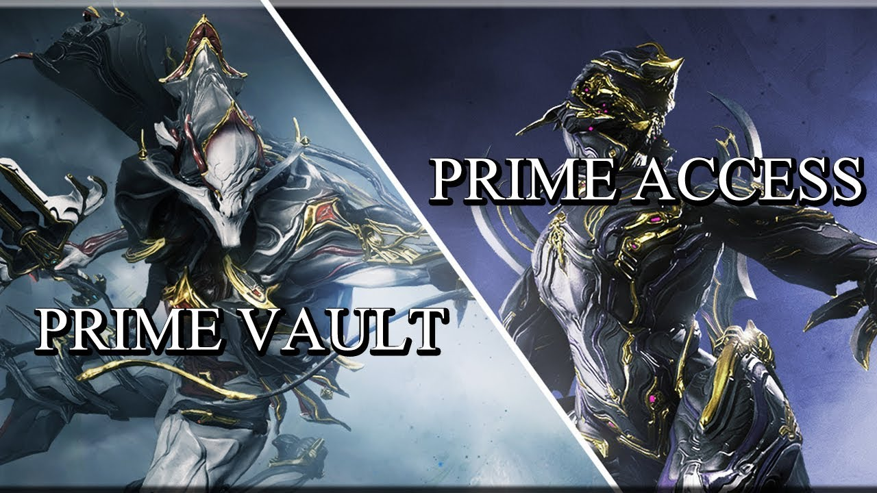 Warframe - Prime Vault & Prime Access (JUNE 19)