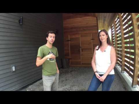 Visite de la 1ère (et magnifique) maison écologique certifiée carbone neutre au Québec !