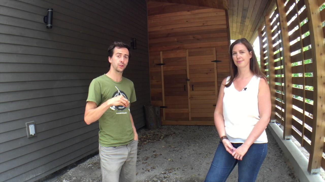 Première maison certifiée neutre en carbone au Québec: Reportage de SolutionEra