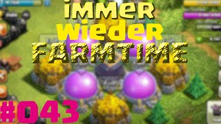Let´s play Clash of Clans #043 Immer wieder Farmtime!!(german)