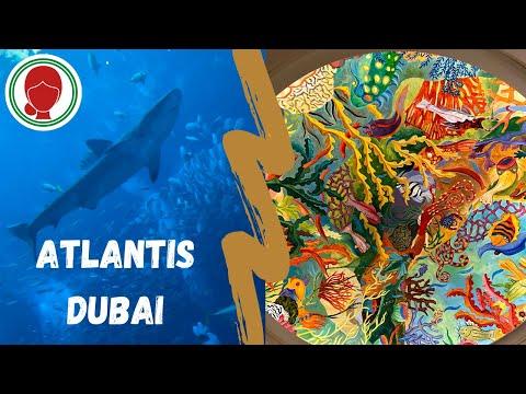 Atlantis The Palm Dubai Part 2 | আটলান্টিস দুবাই | Saffron | Lost Chambers Aquarium