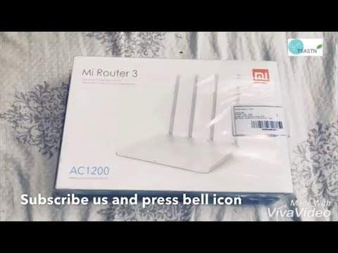 Xiaomi mi Router 3 unboxing and setup ? mi router 3 for hard drive share.