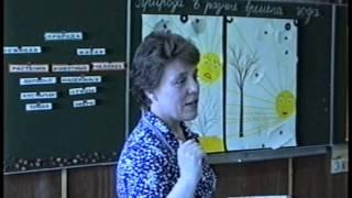 Обобщающий урок природоведения в 1 классе. Природа в разные времена года. Кочина Н.И. 1993 год