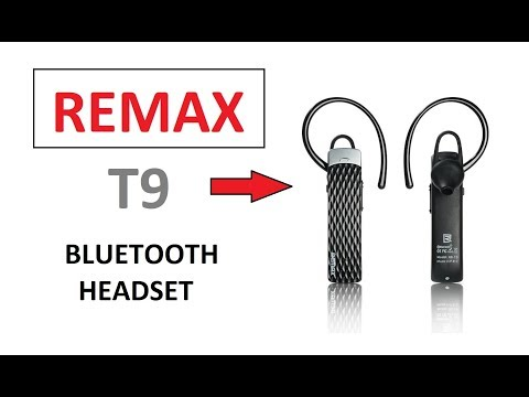 Remax T9 HD Voice Bluetooth Headset Quick Review - Mobile Accessories | Makro.pk