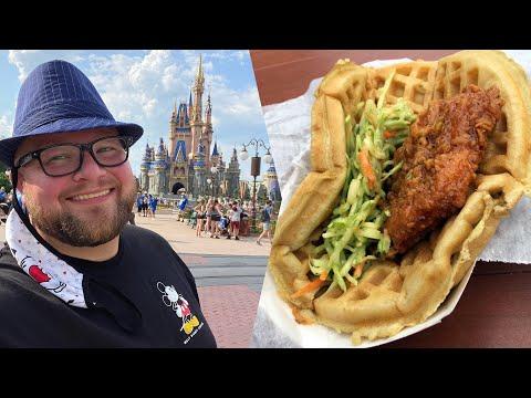 Disney's Magic Kingdom May 2021   Wait Times \u0026 NEW Disney Merchandise   FrontierLand \u0026 Tomorrowland