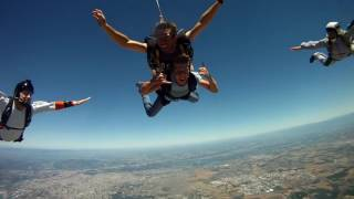 Saut en Parachute - 4000m - Lyon-Corbas 2K16