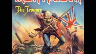 The Trooper backing track with vocals and guitar harmonies