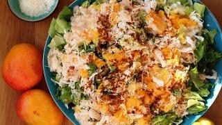 Ma Salade à La Noix De Coco