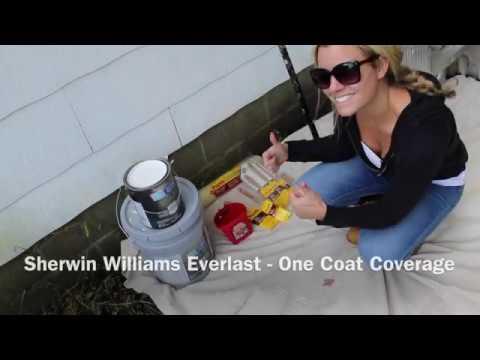 Painting Asbestos Siding Exterior Rehab With Everlast By Sherwin Williams Hgtv Home