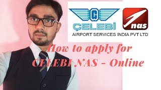How to apply for Celebi Nas for Ground Staff position - Full Online Process
