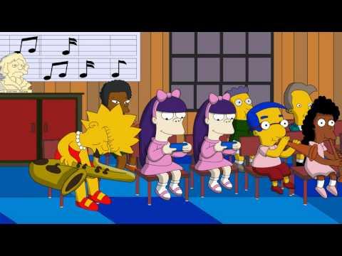 0 Abertura dos Simpsons com os personagens do Family Guy