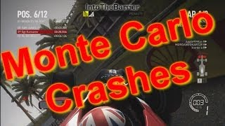 F1 Game 2010 - Monte Carlo Crashes Thumbnail