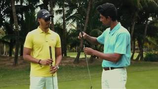 Private coaching session at Paradis Golf Academy
