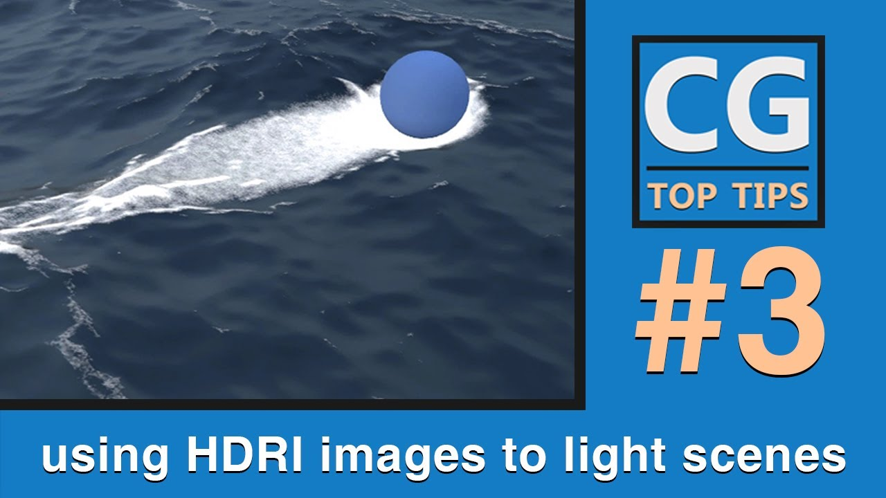 Using HDRI Image to Light Scene in Blender 2.8x