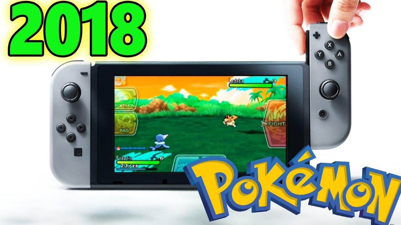 Confirmado Nuevo Juego Pokemon Para Switch 2018 Youtube