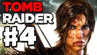 Tomb Raider - 2013 Gameplay Walkthrough Part 4 - Wolf Den (PC, XBox 360, PS3)