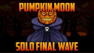 Terraria - Solo Pumpkin Moon Event Final Wave