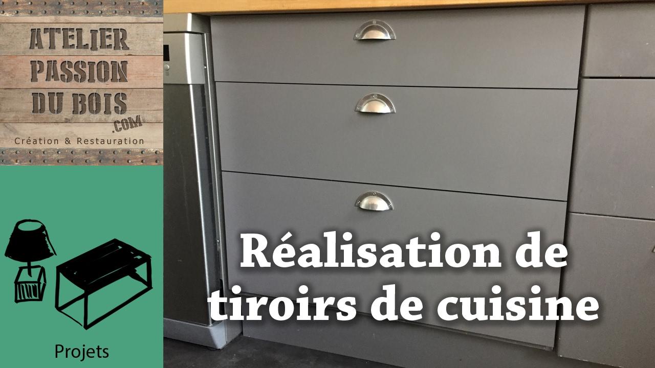 comment faire des tiroirs en contreplaque making plywood drawers