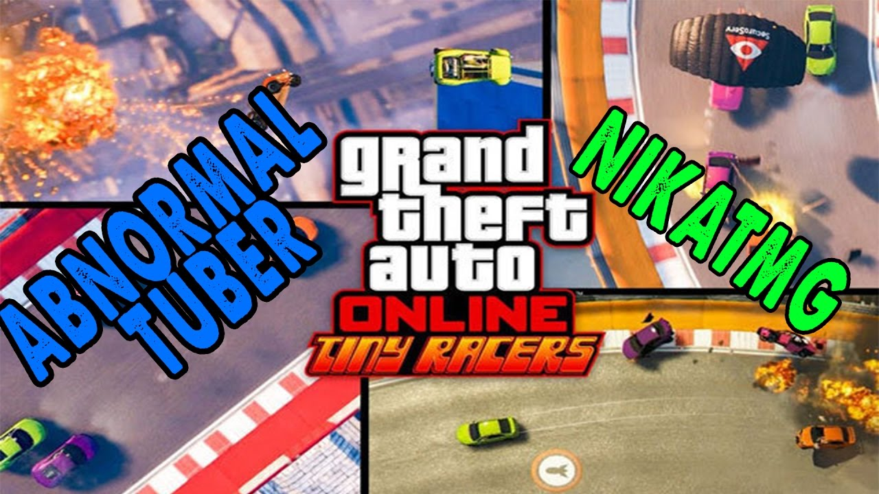 Tiny Racers – NikaTMG VS. GeoMiner &AbnormalTuber | GTA 5 Online ქართულად!