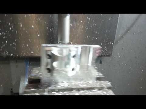 Haas cnc machining 6061 aluminum part dtech customs