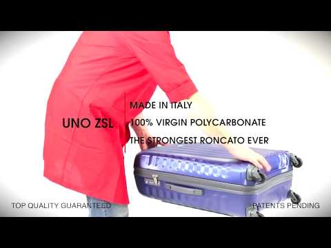 Хороший чемодан - сам себе реклама. Обзор чемодана RONCATO UNO ZSL.