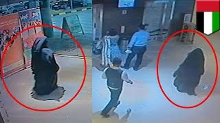 American mother is stabbed to death by burqa-clad person in Abu Dhabi UAE mall