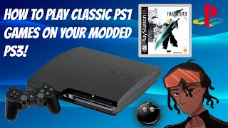 How To Play Classic PS1 ISO/BIN Games On Your Modded PS3 [EASY!] #PS1 #PS3 #CFW