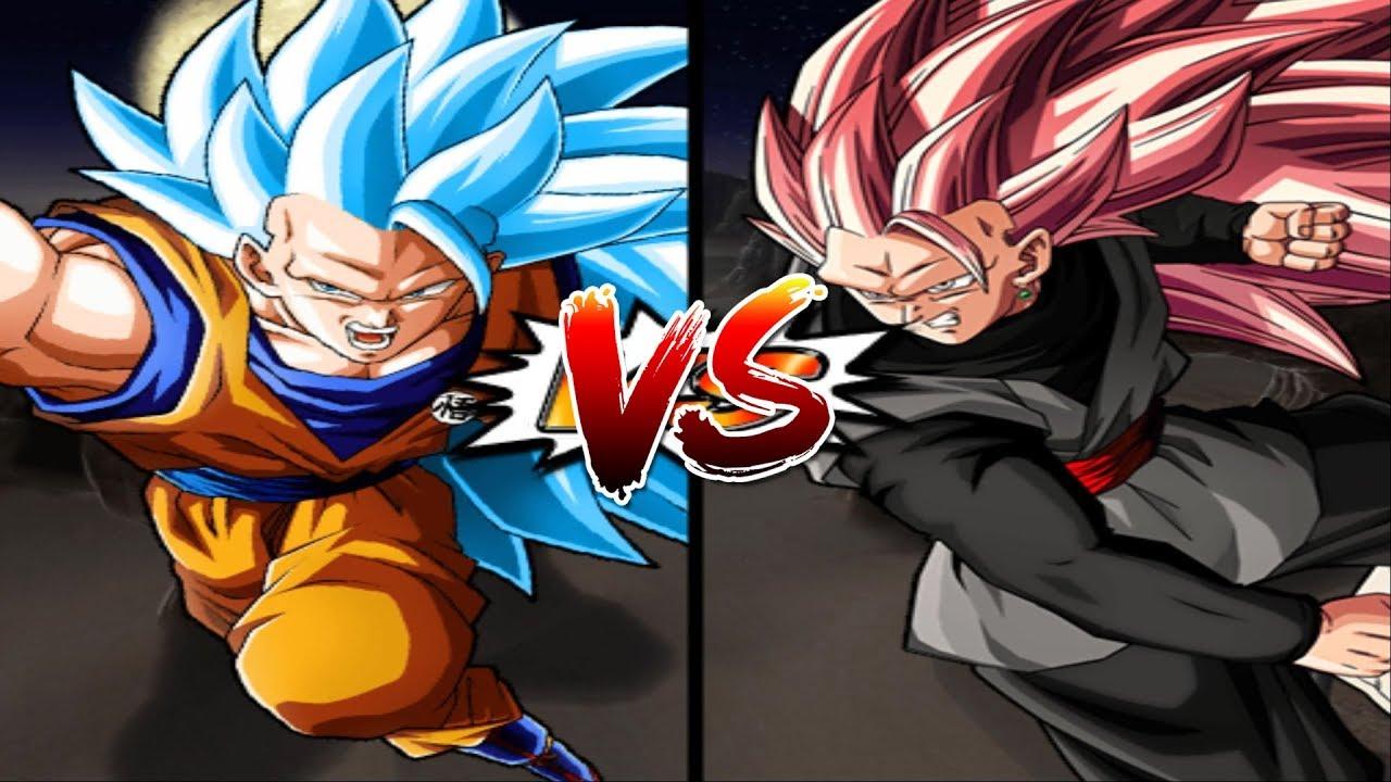 GOKU BLUE SSJ 3 ĐỐI ĐẦU BLACK GOKU SSJ3 – Dragon Ball Super Song Đấu