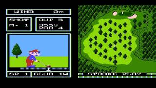 Let's Play Family Computer Golf: Japan Course (Gold) Part 1