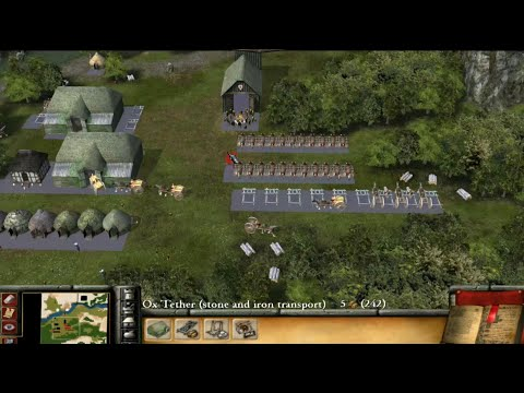 Stronghold 2 Gameplay |
