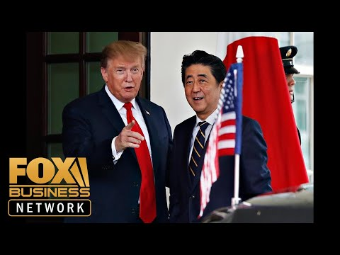 Trump addresses 'coup' comment during press conference with Japanese PM