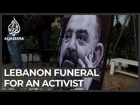 Lebanese mourn slain activist Lokman Slim