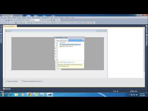 C# Bind DataGridView with and without code