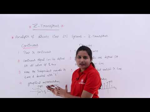 Introduction To Z-Transform
