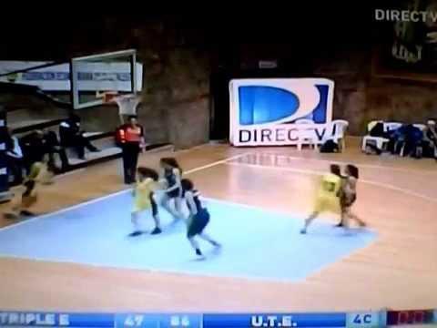 Liga Ecuatoriana Baloncesto Femenina 2014: Triple E 47-87 UTE (Desenlace)