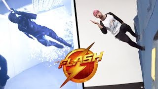 Stunts From The Flash In Real Life (Parkour, Flips)