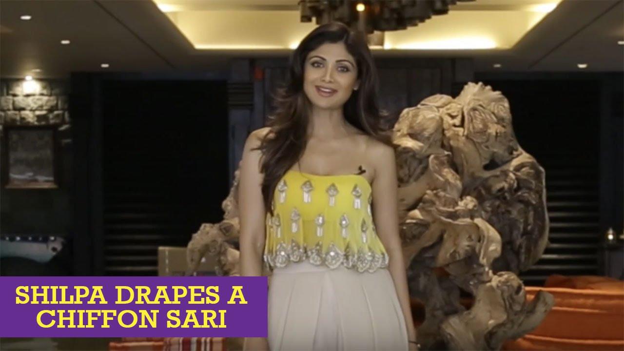 How To Tie A Sexy Bollywood Sari Like Shilpa Shetty Kundra