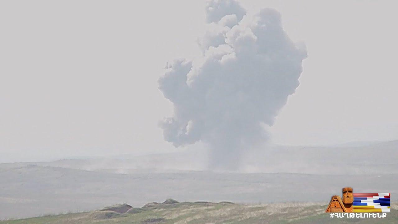 Նոր տեսանյութ, այս պահին էլ բանակը շարունակում է ջախջախել ադրբեջանական  հարձակվող ստորաբաժանումներին
