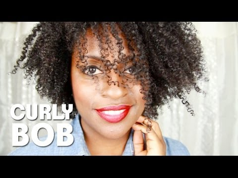 61 Wash Amp Go Curly Bob On 4a Natural Hair YouTube