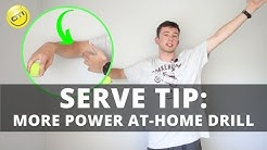 Serve Tip: More Serve Power At-Home Drill